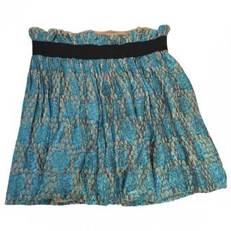 Ganni Turquoise Skirt for Women