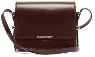 Burberry Grace Leather Cross-body Bag - Burgundy
