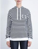 The Upside Rimini cotton-jersey hoody