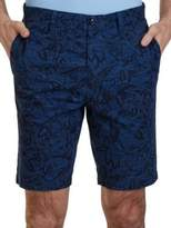 Nautica Slim-Fit Floral-Print Shorts