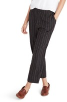 Madewell Women's High Waist Crop Track Trousers