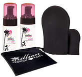 Million Dollar Tan Mermaid Mousse Extreme Face/Body & Mitt Set