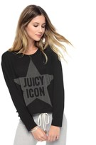Juicy Couture Juicy Icon Graphic Long Sleeve Tee