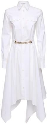 J.W.Anderson Cotton Poplin Knee Length Shirt Dress