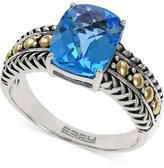Effy Balissima by Blue Topaz Ring in 18k Gold and Sterling Silver (3-1/3 ct. t.w.)