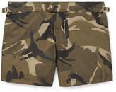 Tom Ford Slim-Fit Short-Length Camouflage-Print Swim Shorts