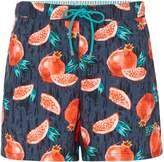 HUGO BOSS Men's Threadfin Pomegranate Swimshorts