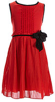 Kate Spade Little Girls 2-6 Pleated Rosette Chiffon Dress
