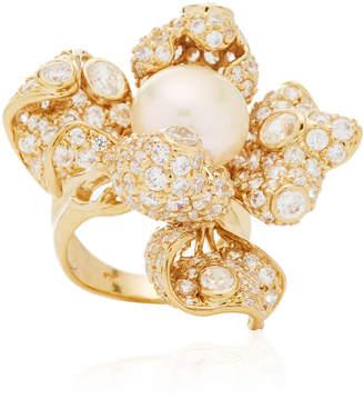 Anabela Chan Mini Blossom Ring