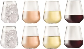 Cellar Stemless Conical Wine Glass 540ml Set of 8