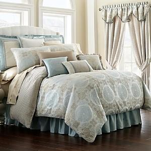 Waterford Jonet Reversible Comforter Set, Queen