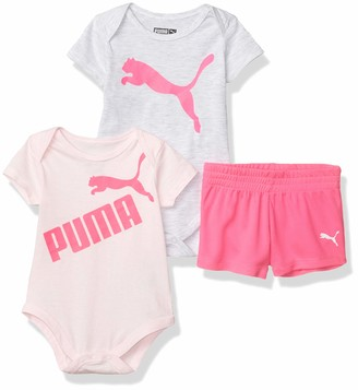 Puma Baby Girls' Bodysuit and Short Set