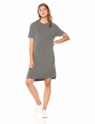 Daily Ritual Jersey Short-sleeve Boxy Pocket T-shirt Dress Casual