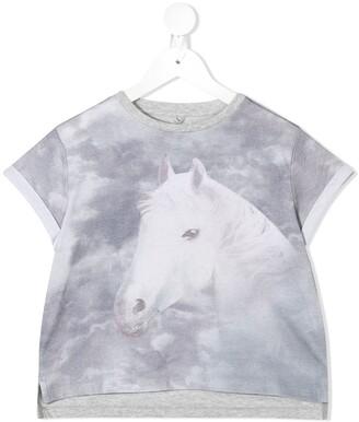 Stella McCartney Kids Horse Print T-Shirt
