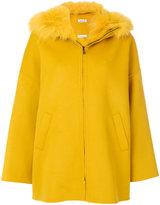 P.A.R.O.S.H. hooded zipped coat