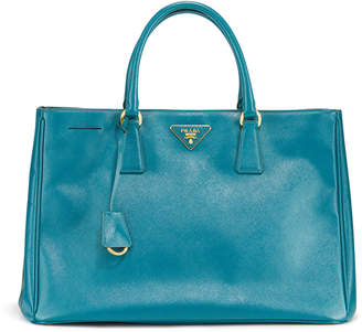 Prada Preowned Saffiano Textured Leather Large Tote Bag