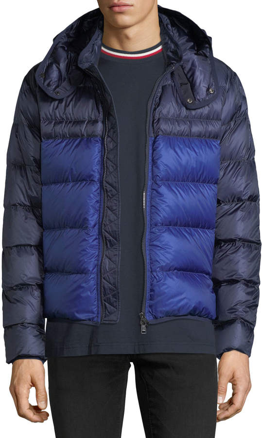 Moncler Brech Hooded Puffer Jacket