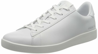 Armani Exchange Women's Box Sole Sneakers Low-Top