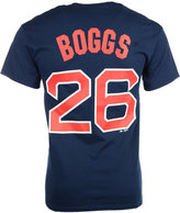 Majestic Men's Short-Sleeve Wade Boggs Boston Red Sox Cooperstown Player T-Shirt