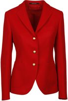 Tagliatore Red Single Breasted Jacket