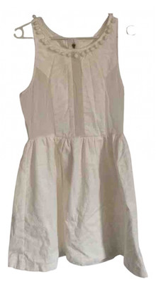 Bel Air White Cotton Dresses