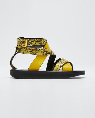Isabel Marant Nasha Strappy Platform Sandals