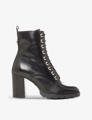 Dune Passo leather ankle boots