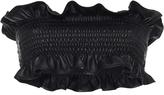 Marni Leather Bandeau Top