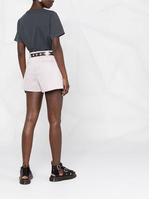 BA&SH Prisme flared shorts