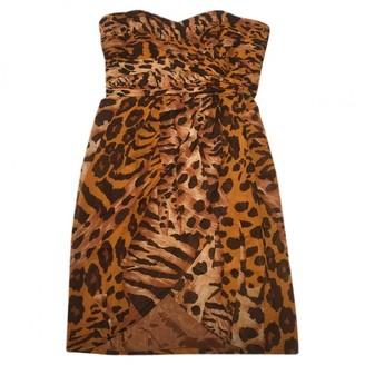 Jean Louis Scherrer Jean-louis Scherrer Orange Silk Dresses