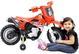 Thumbnail for your product : Best Ride on Cars Honda Crf250r Dirt Bike 6V