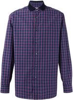 Brioni checked shirt - men - Cotton - L