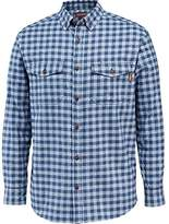 Wolverine Men's Big and Tall Drummon Long Sleeve MARL Texture Flannel Shirt