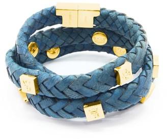 Brio Tissuville Bracelet Royal Blue Gold