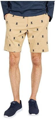 Psycho Bunny Cramlington Shorts (British Khaki) Men's Casual Pants