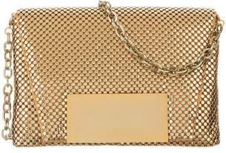 Whiting & Davis Round-Mesh Crossbody Bag