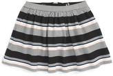 Kate Spade &coreen& stripe skirt (Toddler Girls & Little Girls)