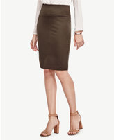 Ann Taylor Ponte Pencil Skirt
