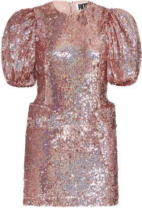 Rotate by Birger Christensen Katie Sequined Mini Dress