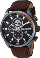 Timberland Men's TBL14816JLU02A HENNIKER II Analog Display Analog Quartz Brown Watch