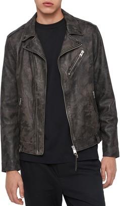 AllSaints Drury Leather Biker Jacket