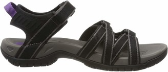 Teva Women's Tirra Sports and Outdoor Lifestyle Sandal Black/Grey 3 UK (36 EU)