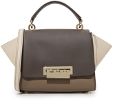 Zac Posen Colorblock Eartha Iconic Top Handle Cross Body Bag