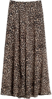 Banana Republic Petite Maxi Skirt with Side Slits