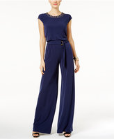 MICHAEL Michael Kors Studded Wide-Leg Jumpsuit