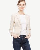 Ann Taylor Tall Textured Newbury Blazer