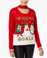 Hooked Up by IOT Juniors' Squad Goals Choker Sweater