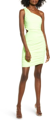Leith One-Shoulder Body-Con Dress