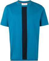Paul Smith striped panel T-shirt - men - Cotton - M