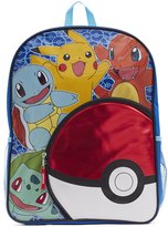 "Pokemon Big Boys Pokeball Pocket"" Backpack"